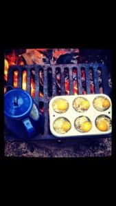camping - pinterest inspired food