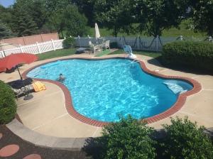 Tim's pool