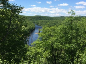 views of lehigh river